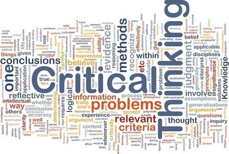 articles about the importance of critical thinking Critical thinking in everyday the essential traits of a critical thinker require an extended period of critical thinking in everyday life: 9 strategies.