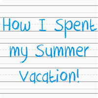 How i spent my summer vacation essay for kids