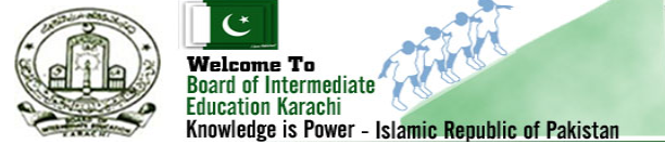 BIEK Karachi Board HSSC Inter Part 1 Commerce Result 2013