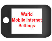 Warid internet GPRS and mms settings for qmobile