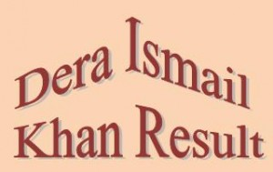 DI Khan Board Matric 9th,10th Class Result 2017 Online By Name