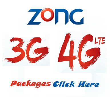 How To Activate Zong 3G Internet Service On Mobile