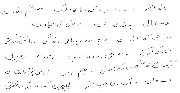 urdu essays for school students
