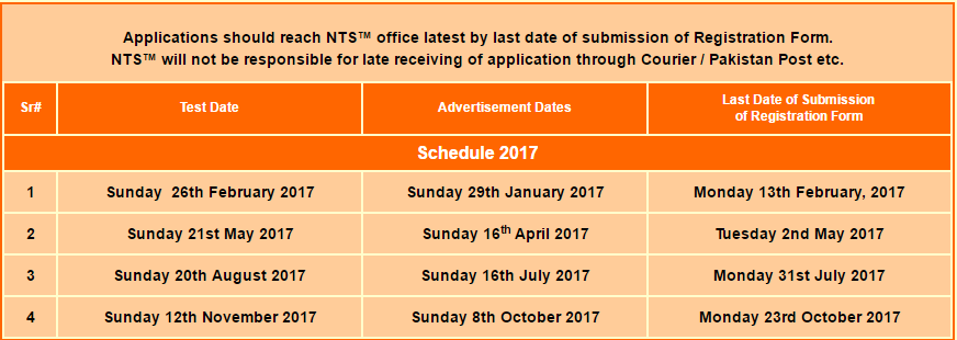 LAW GAT Test Dates, NTS Registration Form And Result 2017