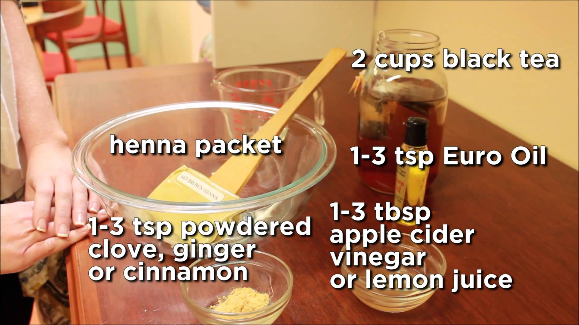 How To Make Henna Paste For Hands In Urdu