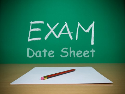 BISE Lahore 2nd Year Date Sheet 2017 For FA FSC