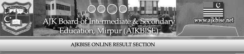 BISE AJK Board Mirpur will announce Inter Part 2 Result 2012 on 5 Sept