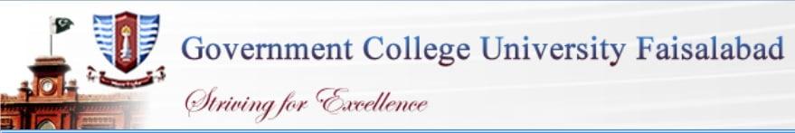 GCU Faisalabad Merit Lists 2017 Undergraduate