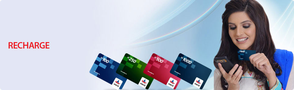 How to check Warid balance and Recharge Card