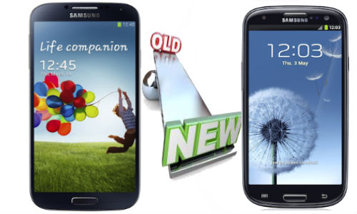 Samsung Galaxy S4 and Galaxy S3