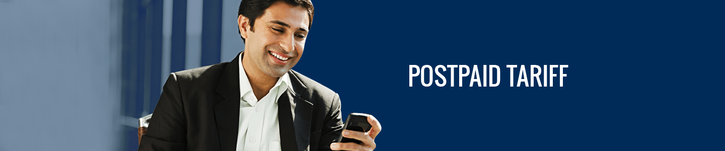 Warid Postpaid Call, SMS, Internet Packages for On-Net or Off-Net