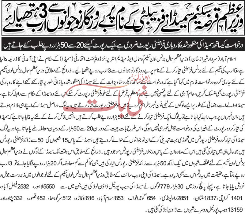 difficulties in pm loan scheme for youth