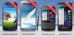 Warid Offer Discount on smart Phones Galaxy s4, Note 2; Blacberry Q-10, Z-10.jpg