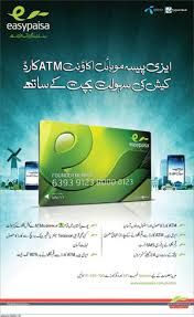 telenor easypaisa atm card how to Get and USE