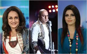 pakistan idol judges names Hadiqa Kiyani , Ali Azmat & Bushra Ansari
