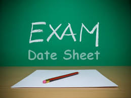 FBISE  SSC Part 1 Date Sheet 2014