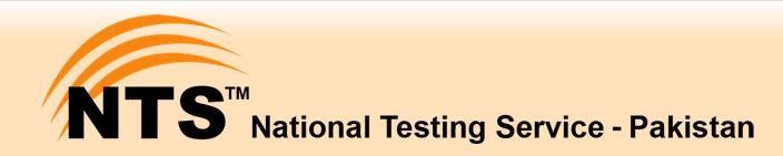 NTS Punjab Educators Jobs Test Result 2018 Online