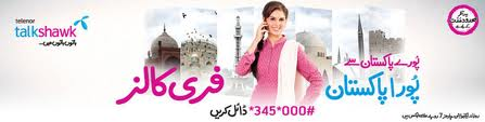Telenor 24 hour on net free call package poora Pakistan offer