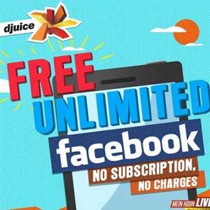 Free Facebook offer for Telenor djuice customers