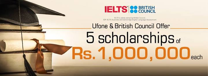 UFone and British Council Offer study Abroad Scholarship in Pakistan