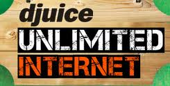 djuice unlimited internet packages offer for GPRS