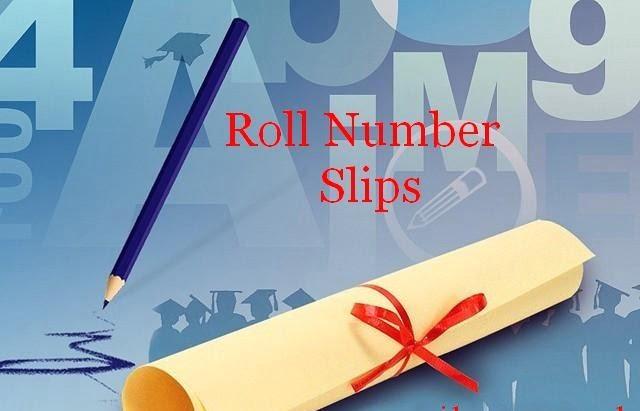 Faisalabad Board Inter 12th Class Roll NO Slip 2018 FA,FSC