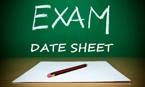 Punjab University announced BCom Exams Date Sheet 2017