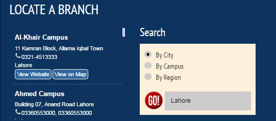 Allied School Lahore Campuses Uniform, Jobs, admission details