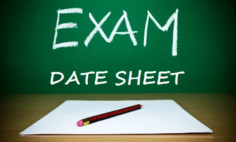 Karachi University B.com Supply Date Sheet 2018