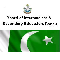 Matric Supply Form Submission Schedule 2016 BISE Bannu Board 9th, 10th