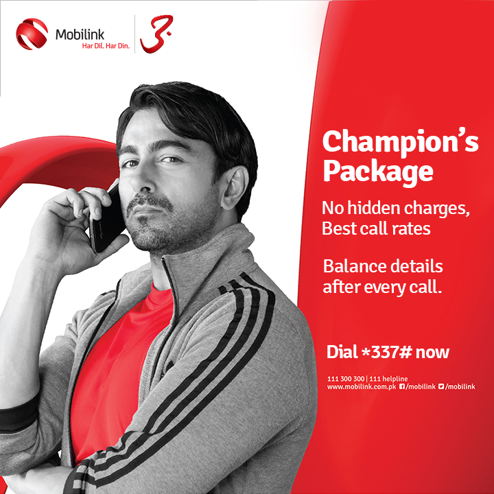Mobilink Jazz Champion Packages Call Rate, Subscription Details