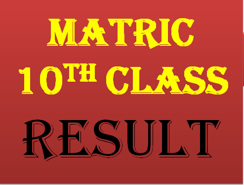 Bahawalpur Board Matric 10th Class Result 2019 Online Top Position Holders