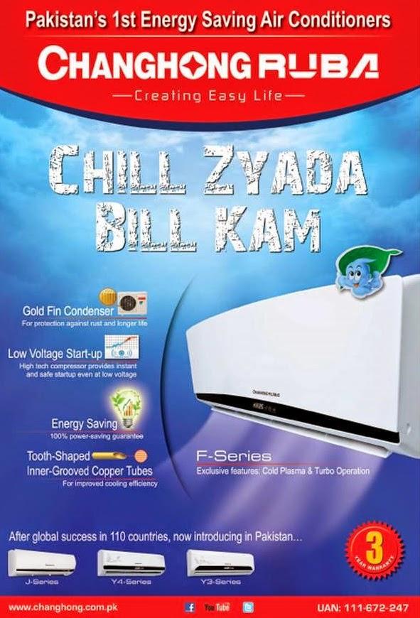 Changhong Ruba AC Prices In Pakistan