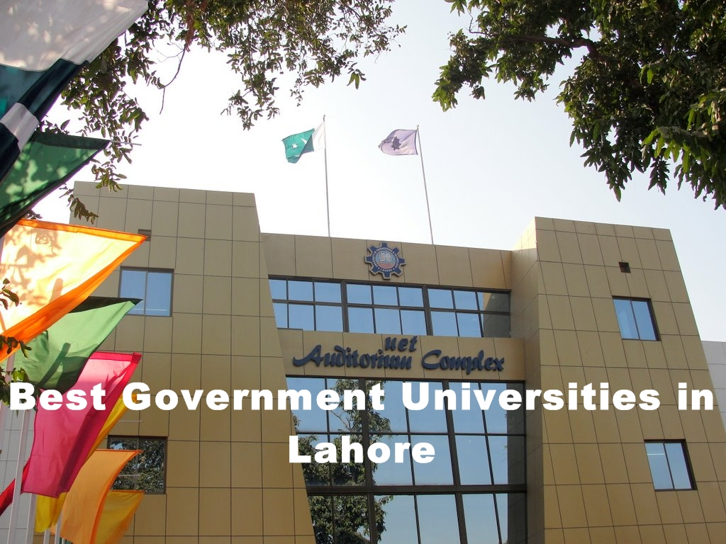Best Government Universities in Lahore