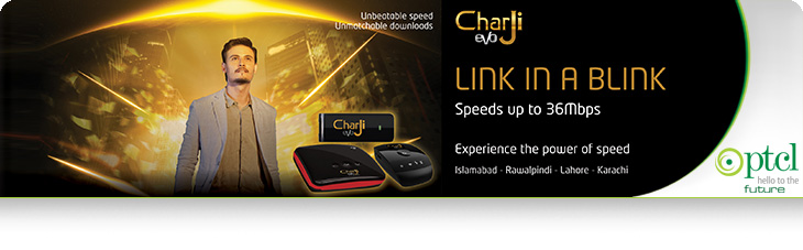 Charji Ptcl Evo Price and Packages 36 MBPS