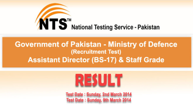Ministry of Defence MOD Selected Candidates List For Interview 2014