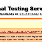 NTS Test Schedule 2014 Registration Form Download Dates