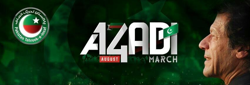 PTI Imran Khan 14th August 2014 Azadi March