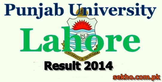 Punjab University Lahore B.A Result 2014 PU Search By Name