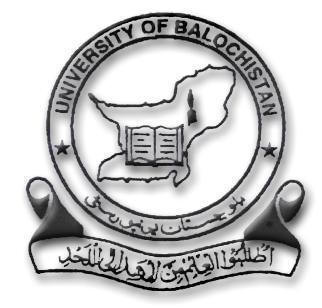 University of Balochistan Quetta BA BSC Annual Date Sheet 2019