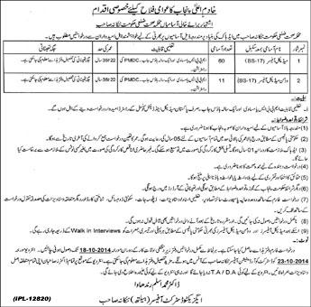 Nankana Sahib Health Department Medical Officer Jobs 2014 Application Form