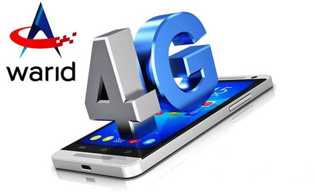 Warid 4G LTE Trail Launch In Pakistan For Postpaid Customers