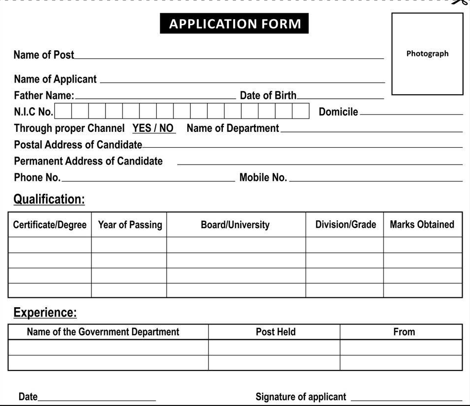 Ministry Of National Health Services Islamabad Jobs 2014 Form Date downlod