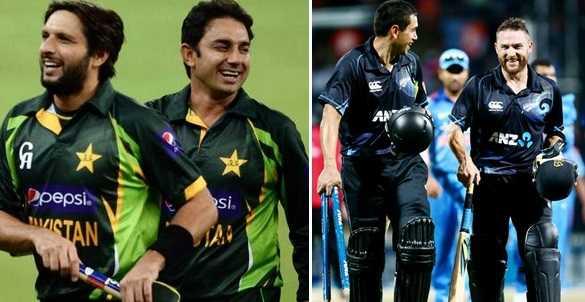 Pakistan VS New Zealand ODI Schedule 2014 Dates, Time, Venue