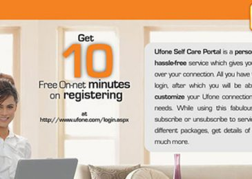 Ufone Self Care Registration Account Login Call History Check Online