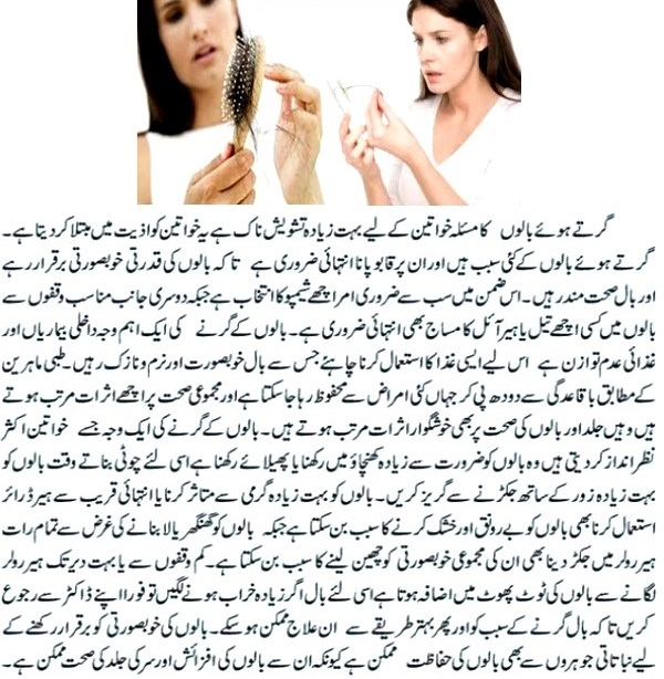 Hair Loss Treatment In Urdu At Home
