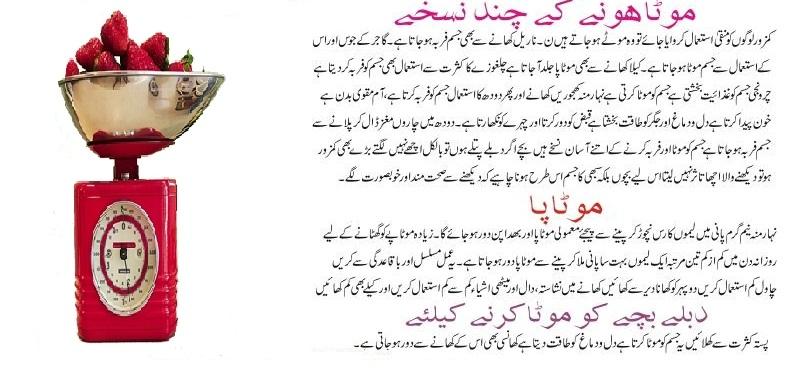 Quick Weight Gain Tips In Urdu