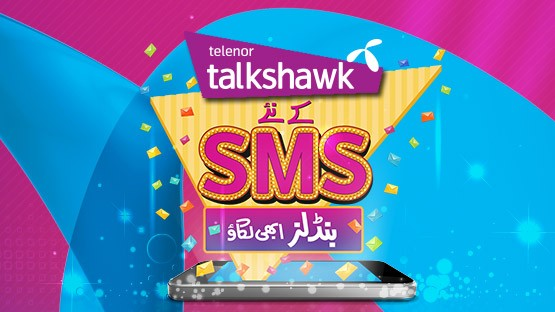 Telenor Talkshawk SMS Packages For 30 Days, 7 Days Code
