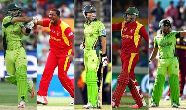 Pakistan VS Zimbabwe Series 2015 Schedule T20, One day