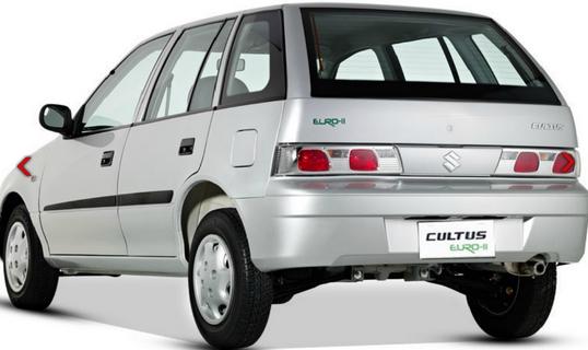 Suzuki Cultus Euro 2 2016 Price